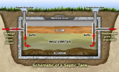 Caring for your septic tanks diagram - Nitschke Liquid Waste