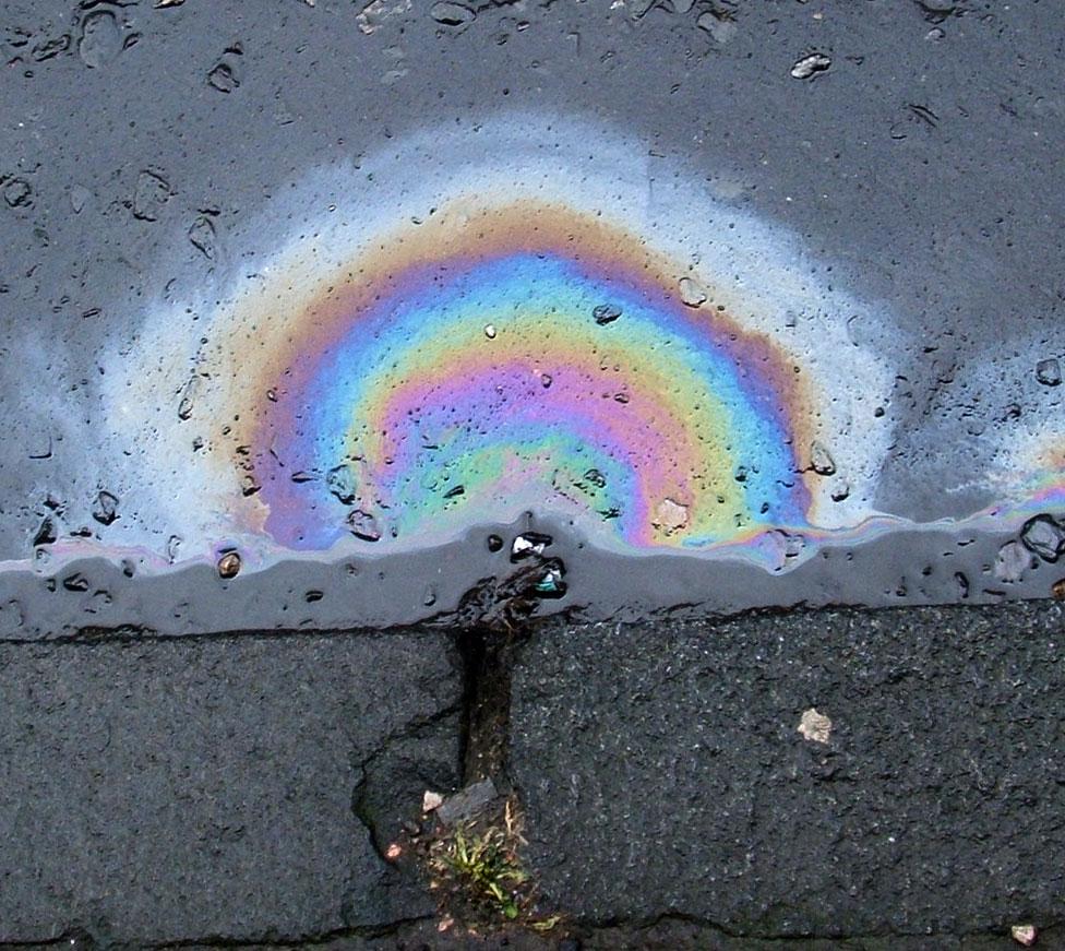 liquid waste spills