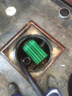 clean grease trap