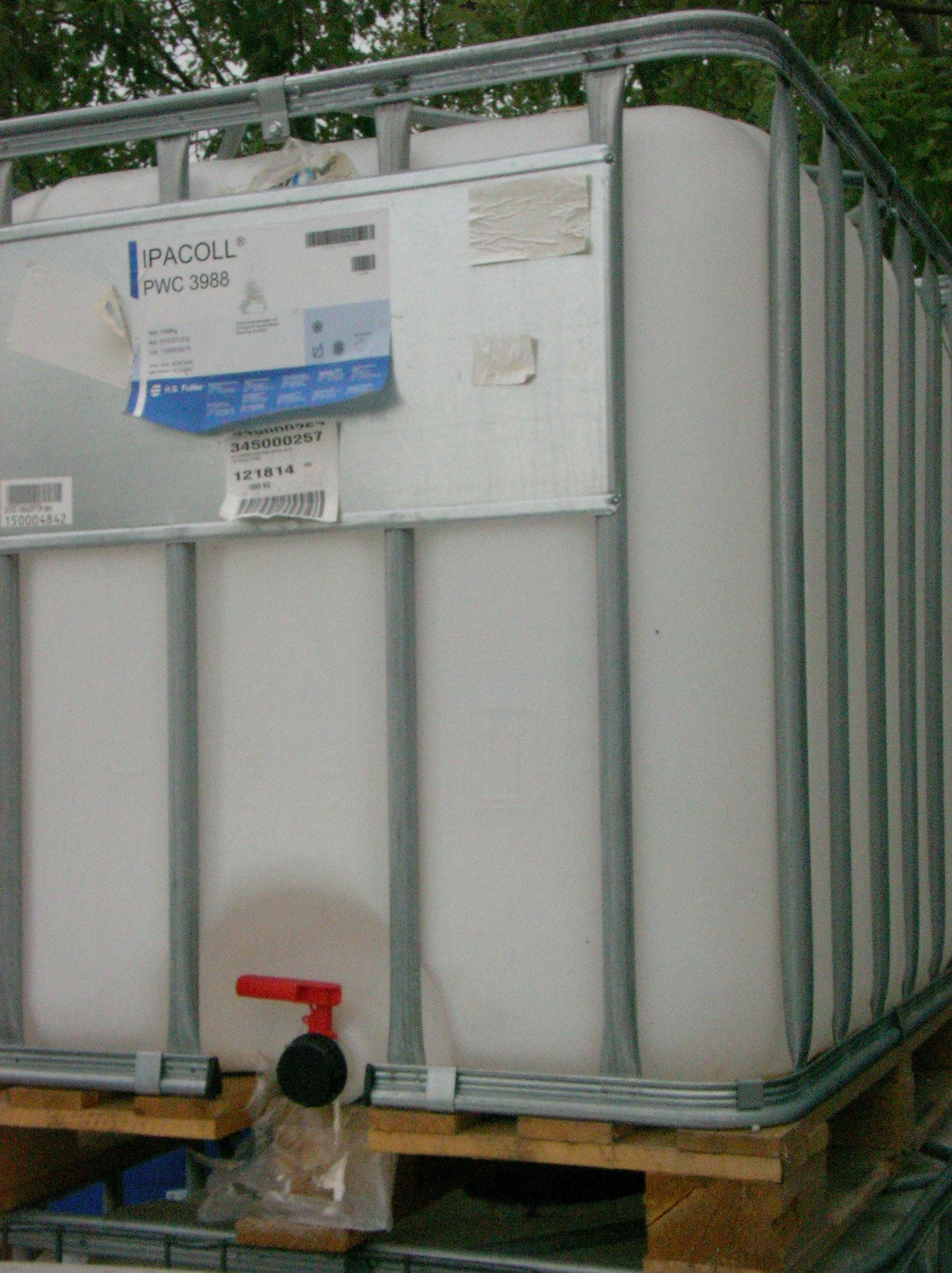 liquid waste storage