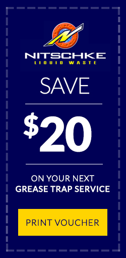 save $20 on your next grease trap service voucher