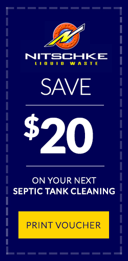 save $20 on your next septic tank cleaning